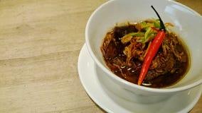 Thai pork stew dish Royalty Free Stock Images