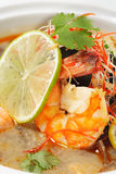 Thai Dishes - Tom Yam Kung Royalty Free Stock Photo