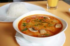 Thai Dishes - Tom Yam Kung Royalty Free Stock Photo