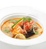 Thai Dishes - Tom Yam Kung Stock Images
