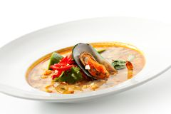 Thai Dishes - Tom Yam Kung Royalty Free Stock Photography