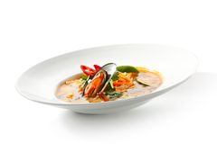 Thai Dishes - Tom Yam Kung Stock Photography