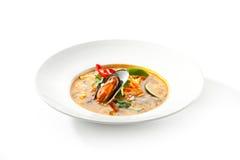 Thai Dishes - Tom Yam Kung Stock Image