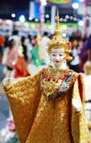 thai docka Arkivfoto