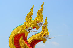 Thai dragon Royalty Free Stock Images