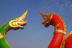 Thai dragon Stock Images