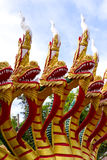 Thai dragon statue Stock Photo