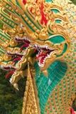 thai drakestatytempel Royaltyfria Foton