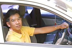 Thai driver Stock Photography