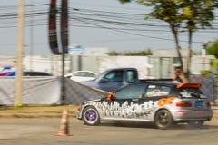 Thai driver race car Stock Image