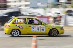 Thai driver race car Stock Photos