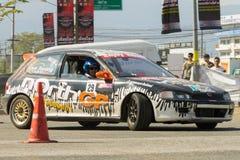 Thai driver race car Stock Images