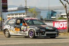 Thai driver race car Stock Photo