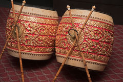 Thai Drum Stock Image