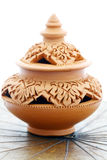 Thai Earthenware Royalty Free Stock Photo