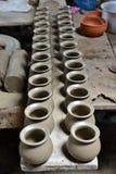 Thai Earthenware Stock Image