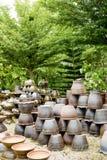 Thai Earthenware pot Stock Images