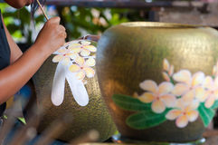 Thai Earthernware Stock Images
