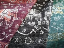 thai elefant Arkivbild