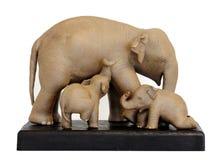 thai elefanter Arkivbilder