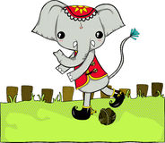 Thai Elephant. Elephant is symbol of Thailand , they are big and strong so someone be scared  it but in Thailand you can fun with them and like them more than Stock Photo
