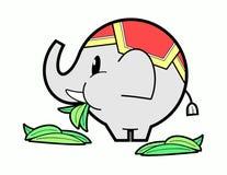 Thai elephant Stock Photos