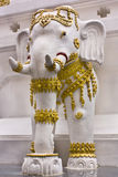 Thai elephant statues. Stock Image