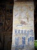 THAI ESARN famous unique myth story mural fresco painting Stock Images