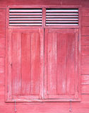 thai fönster Royaltyfri Bild