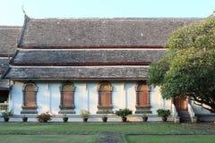 thai fönster för tempel Fotografering för Bildbyråer