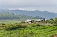 thai by för gammal stil Arkivfoton