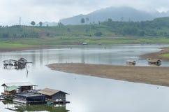 thai by för gammal stil Fotografering för Bildbyråer