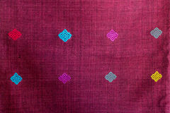 Thai fabric Royalty Free Stock Photo