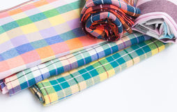 Thai fabric,loincloth handmade thai style Stock Photography
