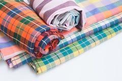 Thai fabric,loincloth handmade thai style Royalty Free Stock Photos