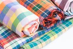 Thai fabric,loincloth handmade thai style Stock Images