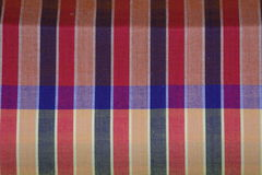 Thai fabric pattern. Detail of Thai fabric pattern Royalty Free Stock Image