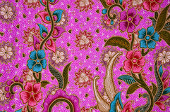 Thai fabric pattern. Thai style fabric weave pattern close up Stock Images