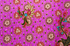 Thai fabric pattern. Thai style fabric weave pattern close up Royalty Free Stock Photography