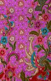 Thai fabric pattern Stock Photos