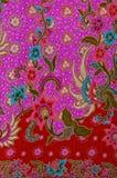 Thai fabric pattern Stock Photo