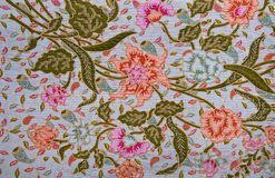 Thai fabric pattern Stock Image
