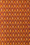 Thai fabric pattern Royalty Free Stock Photo