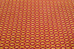 Thai fabric patterns Stock Images