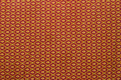 Thai fabric patterns Royalty Free Stock Photo