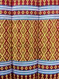 Thai fabric pattren Royalty Free Stock Photography
