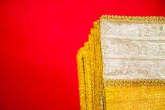 Thai fabric Royalty Free Stock Photos