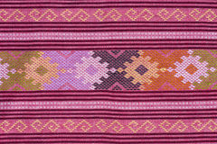 Thai fabric Royalty Free Stock Photography