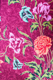 Thai fabric textured Royalty Free Stock Images