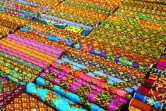 Thai fabrics Royalty Free Stock Images